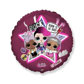 Folie ballon L.O.L Suprise Born To Be Bad (leeg)