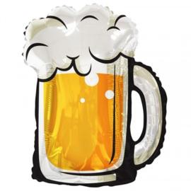 Folie ballon Bier (leeg)