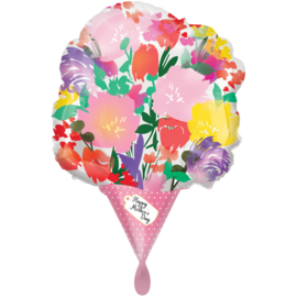 Folie Ballon Happy Mother's Day (leeg)