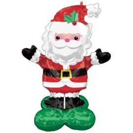Folie Ballon Christmas Santa (leeg)