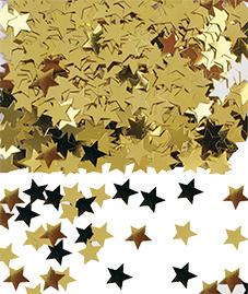 Confetti Stars Goud