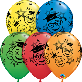 Latex Ballonnen Geslaagd Smile