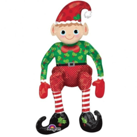 Folie Ballon Sitting Elf (leeg)
