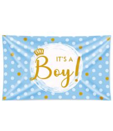 Gevel vlag It's a Boy