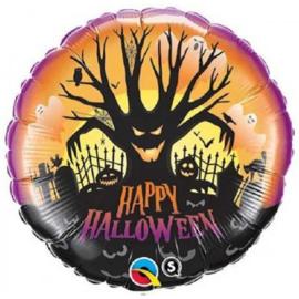 Folie Ballon Happy Halloween Boom (leeg)
