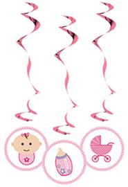 Baby Girl Swirls