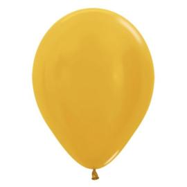 Latex Ballonnen Goud Metallic
