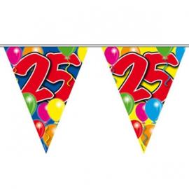 25 jaar ballon Vlaggenlijn
