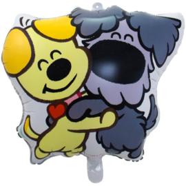Folie ballon Woezel & Pip Shape (leeg)
