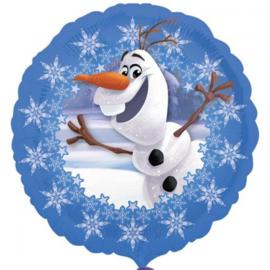 Folie ballon Frozen Olaf Street Treats (leeg)