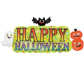Folie Ballon Happy Halloween Shape (leeg)