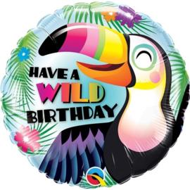 Have a Wild Birthday Toucan (leeg)
