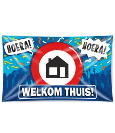 Gevel Vlag Welkom Thuis