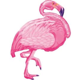 Folie Ballon Flamingo (leeg)