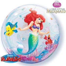 Folie ballon Bubble Zeemeermin Ariel (leeg)