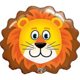 Folie ballon Leeuw (leeg)