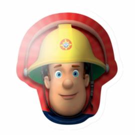Folie ballon Brandweer Sam Hoofd (leeg)