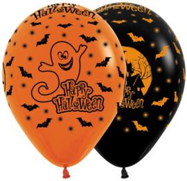 Latex Ballonnen Happy Halloween