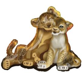 Folie ballon Lion King Shape (leeg)