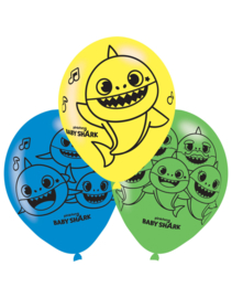 Latex Ballonen Baby Shark