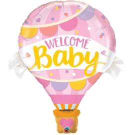 Folie Ballon Luchtballon Roze (leeg)