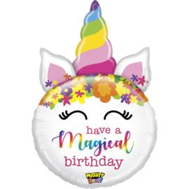 Folie Ballon Have a Magical Birthday (leeg)