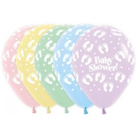 Latex Ballonnen Baby Shower Pastel Matte