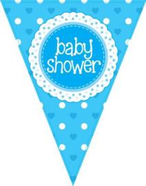 Baby shower Jongen Vlaggenlijn