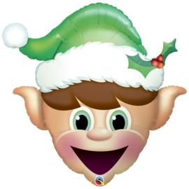 Folie Ballon Kerst Elf (leeg)