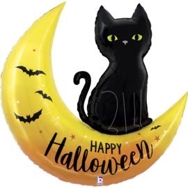 Folie Ballon Happy Halloween (leeg)
