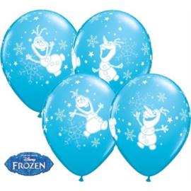 Latex Ballonnen Frozen Olaf