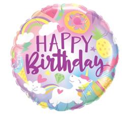 Folie ballon Fantastical Fun Birthday (leeg)
