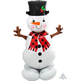 Folie Ballon Snowman (leeg)