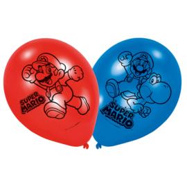 Latex Ballonnen Super Mario