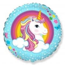 Folie ballon Unicorn / Eenhoorn (leeg)
