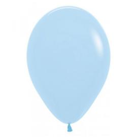 Latex Ballonnen  Pastel Matte Blue