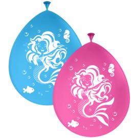 Latex Ballonnen Zeemeermin