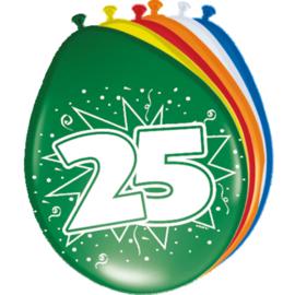 Latex Ballonnen 25 jaar