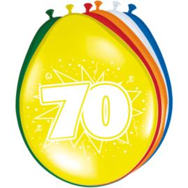 Latex Ballonnen 70 Jaar