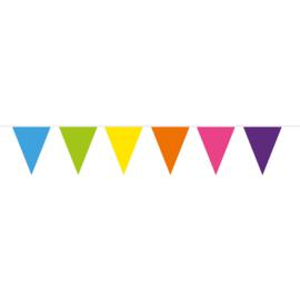 Gekleurde Vlaggenlijn