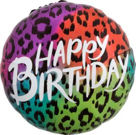 Folie Ballon Wild Child Birthday (leeg)