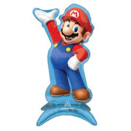 Folie Ballon Center Piece Super Mario (leeg)