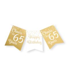 Vlaggenlijn 65 Goud / Wit