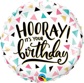 Folie Ballon It's Your Birthday (leeg)