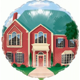 Folie Ballon Welcome Home (leeg)