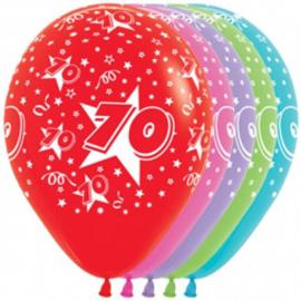 Latex Ballonnen Cijfer 70