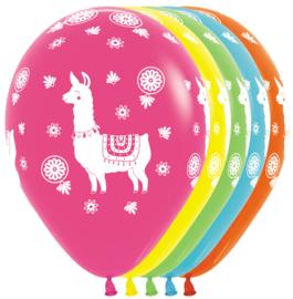 Latex Ballonnen Lama