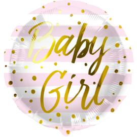 Folie Ballon Baby Girl (leeg)