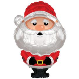 Folie Ballon Kerstman (leeg)