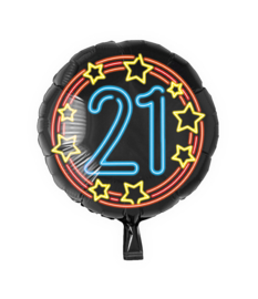 Folie Ballon Neon 21 (leeg)